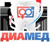 Логотип стоматологии на Щелковской Диамед